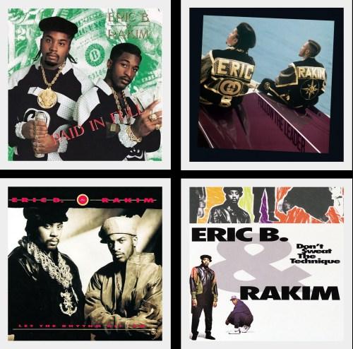 Eric B & Rakim @HipHopGoldenAge