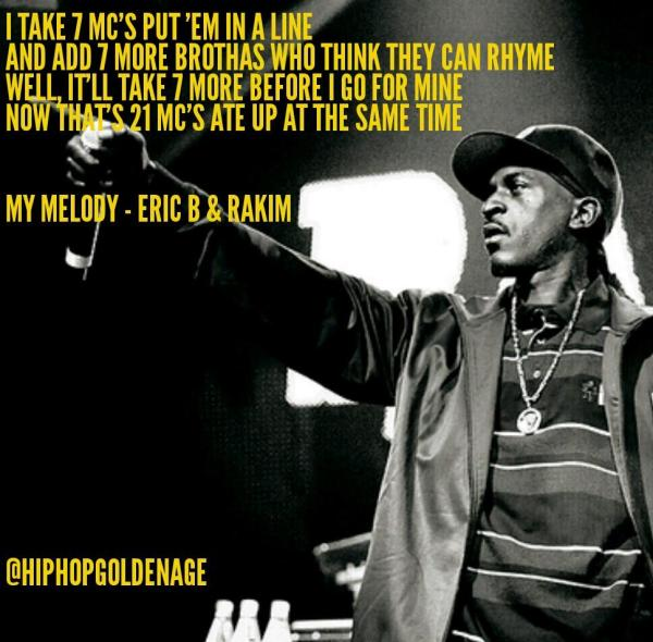 Rakim My Melody HipHopGoldenAge
