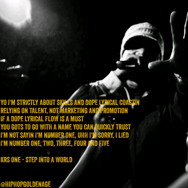 HipHopGoldenAge HHGA KRS One