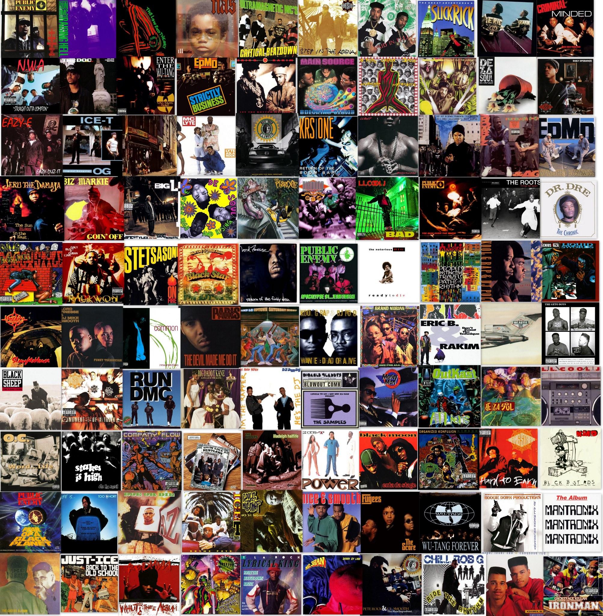 best hip hop singles 90s