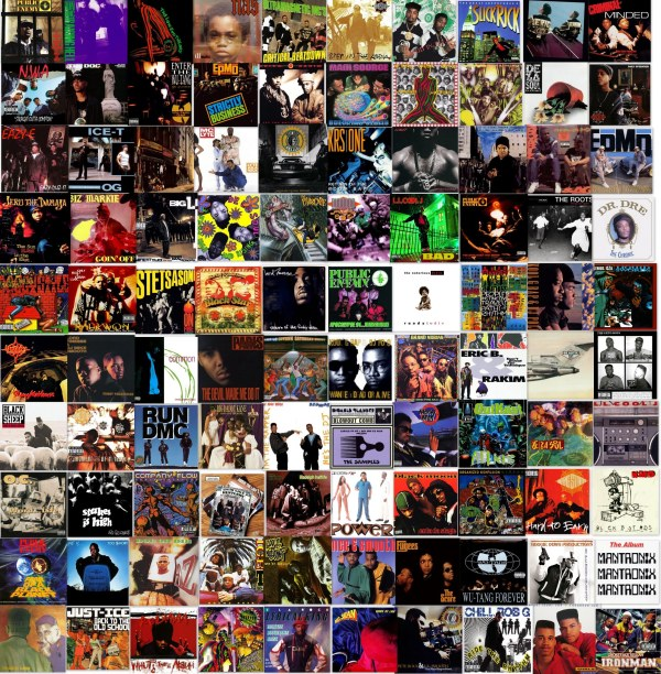HipHopGoldenAge Top 100 Albums HHGA